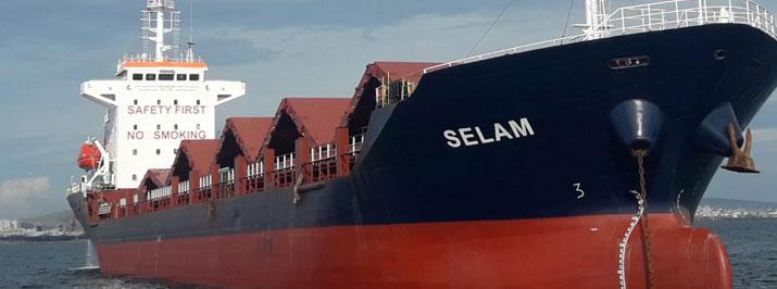 M/V SELAM<br>7713 DWT